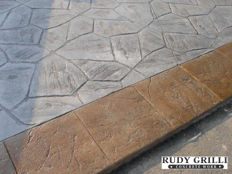 Arizone Fieldstone with Tile Border