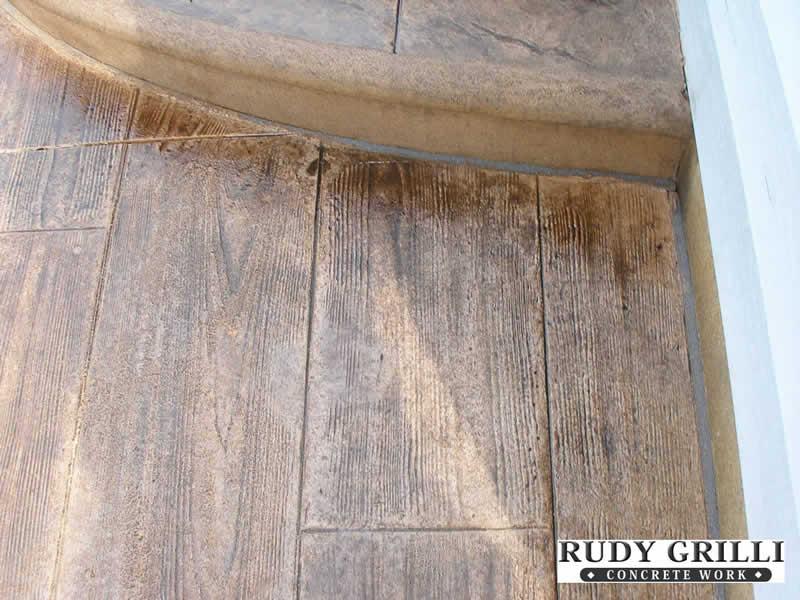 Wood Pattern Stamped Concrete Pattern : Pattern stamped concrete patterns gallery