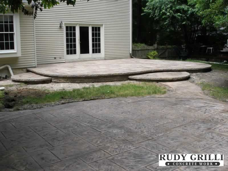 Raised Concrete Patio submited images