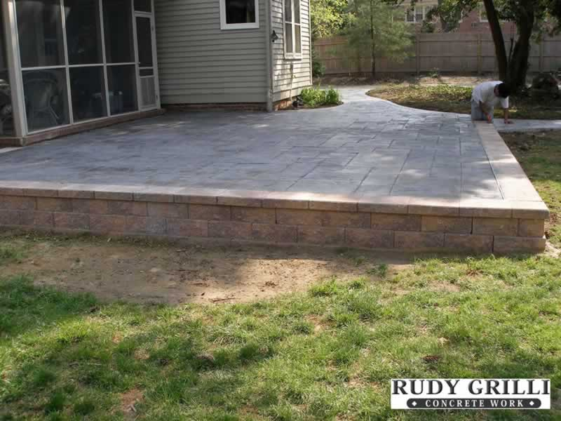 Beautiful Raised Patio ...